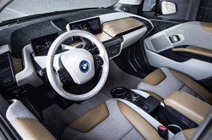 BMW i3 electric car inside 300x199 Meet the BMW i3 Electric Car