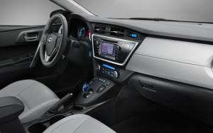 Toyota Auris Hybrid interior 2014 Toyota Auris Hatchback